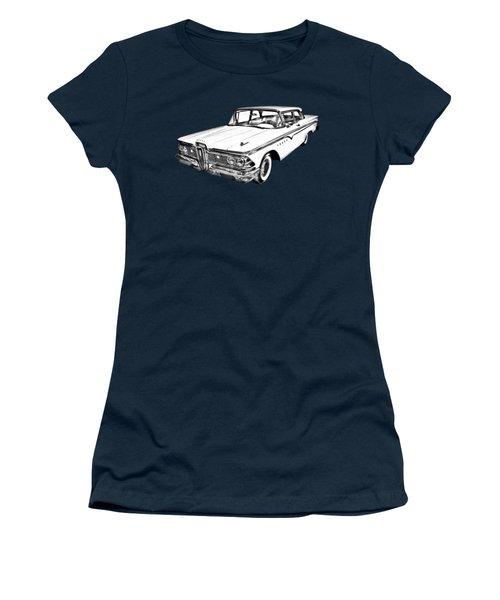 1959 Edsel Ford Ranger Illustration Women's T-Shirt