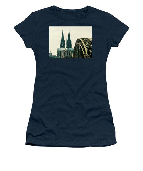 Cathedral Women's T-Shirt (Junior Cut) by Cesar Vieira