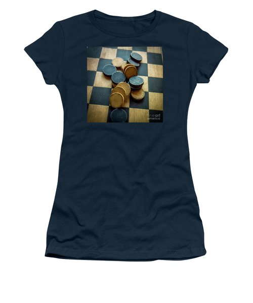 Checkers On A Checkerboard Women's T-Shirt