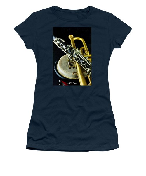 Jazz Women's T-Shirt (Athletic Fit)