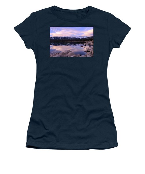 Lake Tahoe Rocks  Women's T-Shirt
