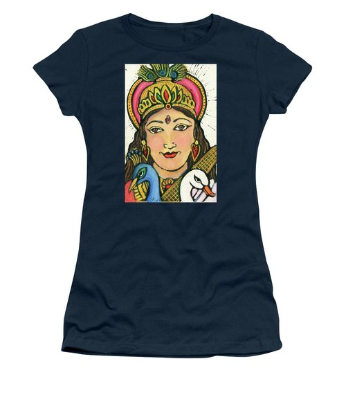 Saraswati Women's T-Shirt (Athletic Fit)