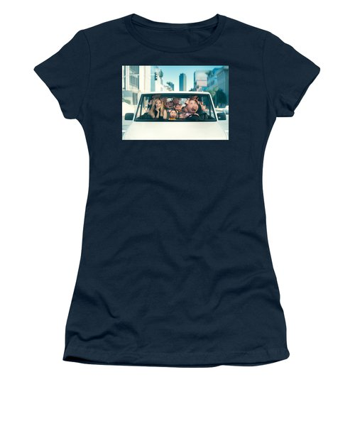 Sing Women's T-Shirt (Athletic Fit)