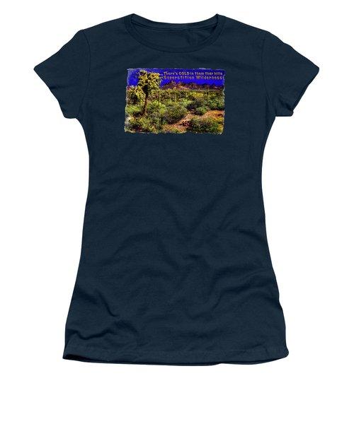 Sonoran Desert In The Superstition Wilderness Women's T-Shirt