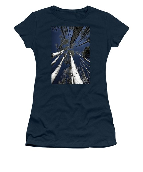 Towering Aspens Women's T-Shirt (Athletic Fit)