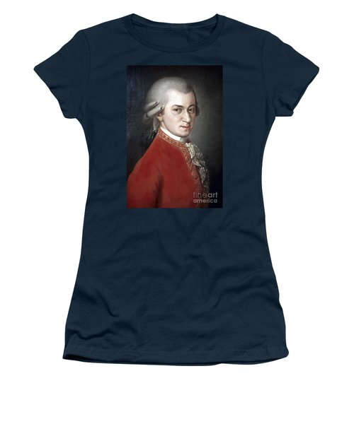 Wolfgang Amadeus Mozart Women's T-Shirt