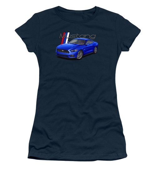 2015 Blue Mustang Women's T-Shirt