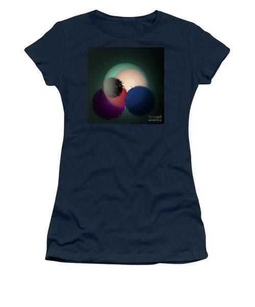 Women's T-Shirt (Junior Cut) featuring the digital art 2986-2017 by John Krakora