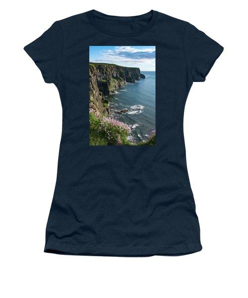 Cliffs Of Moher, Clare, Ireland Women's T-Shirt