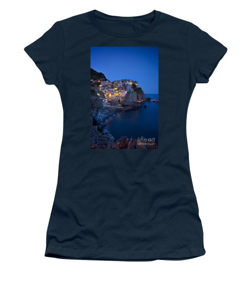 Women's T-Shirt featuring the photograph Cinque Terre by Brian Jannsen