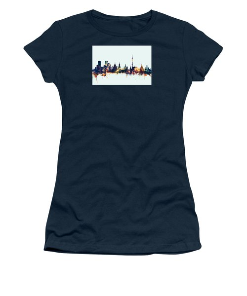 Moscow Russia Skyline Women's T-Shirt (Athletic Fit)