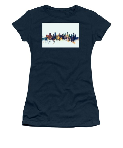 Vancouver Canada Skyline Women's T-Shirt