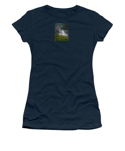 4166 Women's T-Shirt (Junior Cut) by Peter Holme III