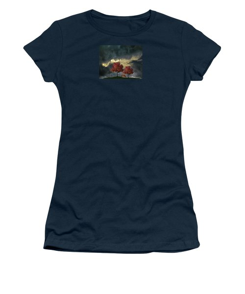 Women's T-Shirt (Junior Cut) featuring the photograph 4384 by Peter Holme III
