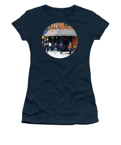 8th Ave. And W 22nd Street Chelsea Women's T-Shirt