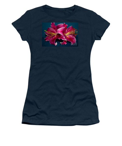 A Bunch Of Beauty Floral Women's T-Shirt (Athletic Fit)