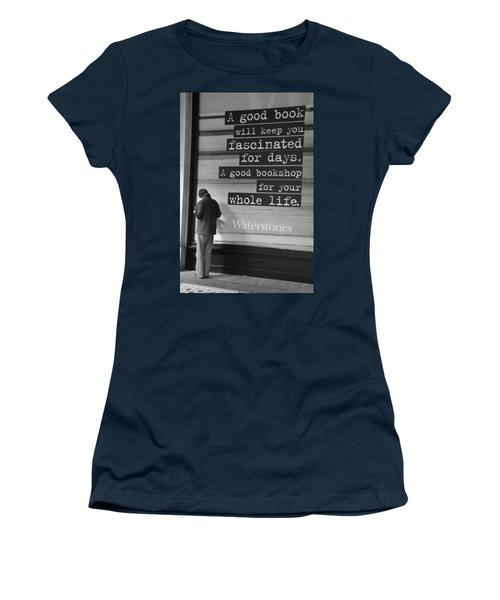 A Good Book Women's T-Shirt