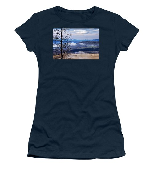 A Road Half Way There Women's T-Shirt (Junior Cut) by Sandra Foster
