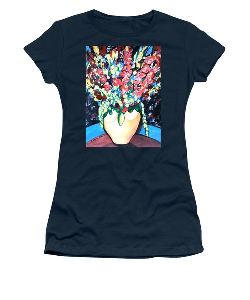 A Welcoming Bouquet Women's T-Shirt (Athletic Fit)