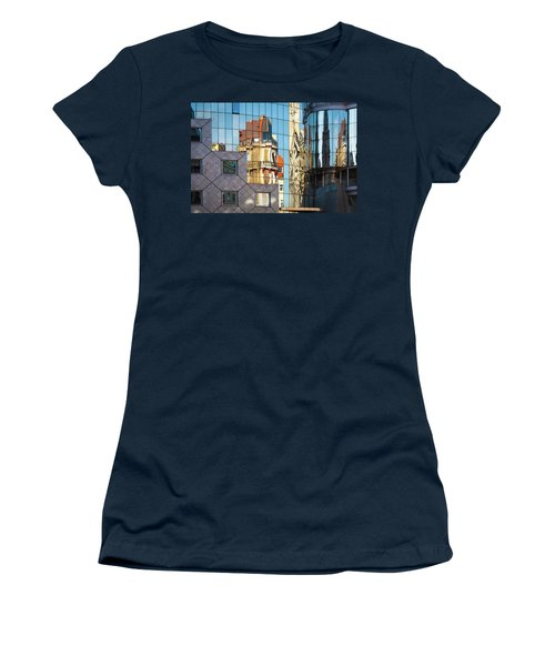 Abstract Architecture Women's T-Shirt (Junior Cut) by Teemu Tretjakov