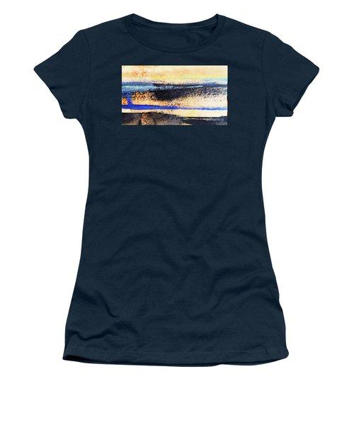 Abstract Coastal Beach Sunset Women's T-Shirt