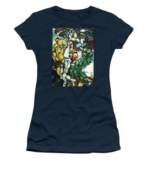 Adam And Eve Women's T-Shirt (Athletic Fit)