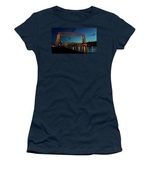 Aerial Lift Bridge Women's T-Shirt (Athletic Fit)