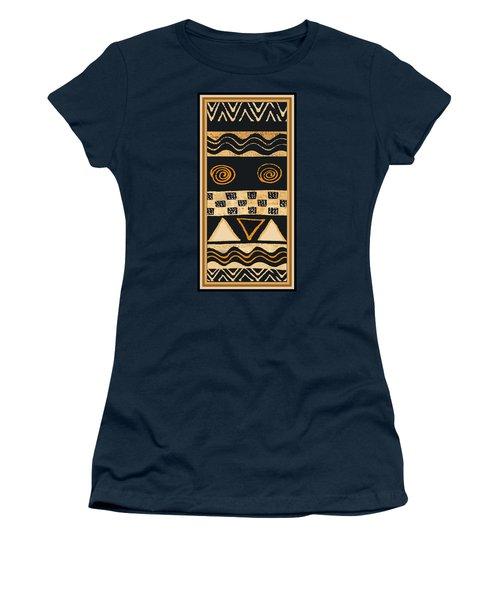 African Memories Women's T-Shirt (Junior Cut) by Vagabond Folk Art - Virginia Vivier
