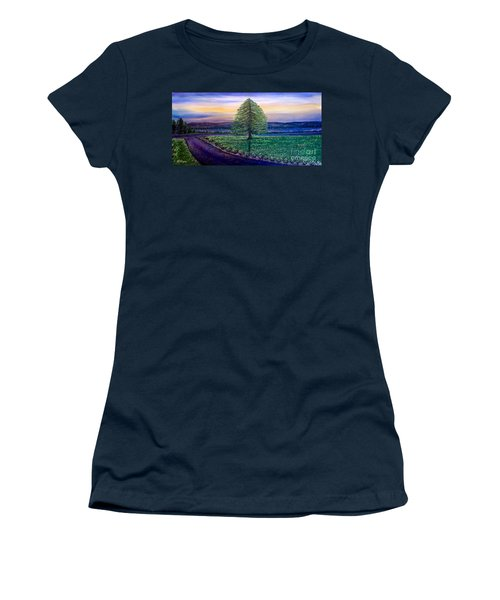 After The Rain Comes The Joy Women's T-Shirt (Junior Cut) by Kimberlee Baxter
