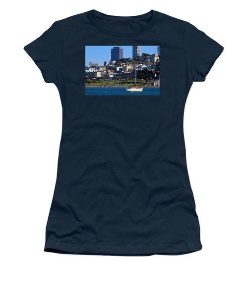 Afternoon At Maritime Park Women's T-Shirt