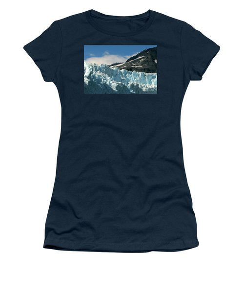 Aialik Glacier Women's T-Shirt (Athletic Fit)
