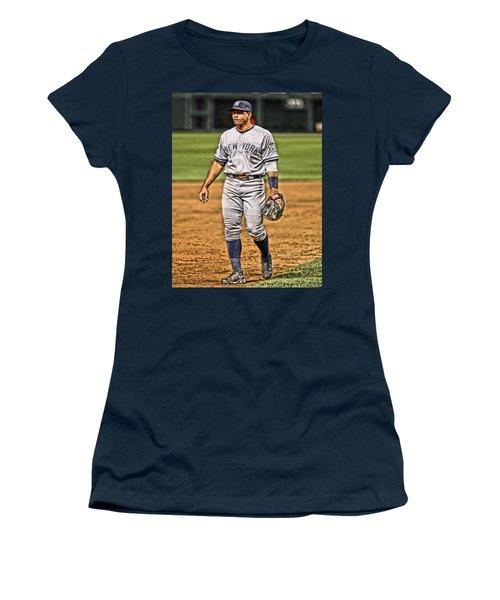 Alex Rodriguez New York Yankees Art 4 Women's T-Shirt