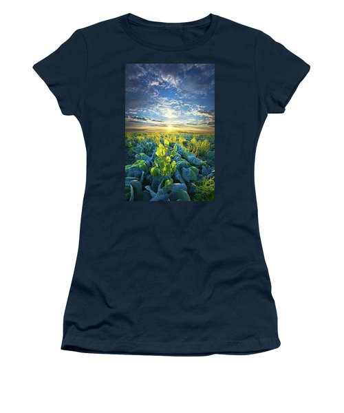 All Joined As One Women's T-Shirt (Junior Cut) by Phil Koch