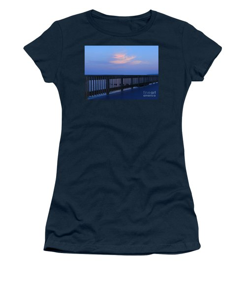 Alls Quiet On The Beach Front Women's T-Shirt