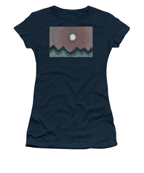 Alpine Resonance Original Painting Women's T-Shirt
