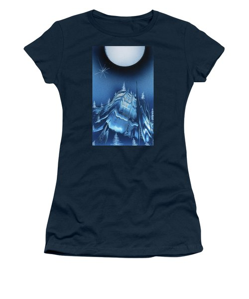 Alpine Ski Area Women's T-Shirt