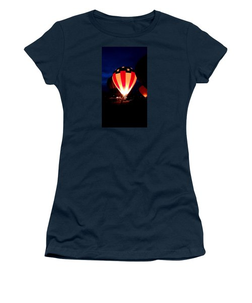 American Balloon Women's T-Shirt (Athletic Fit)