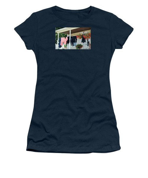 Amish Clothesline Women's T-Shirt (Athletic Fit)
