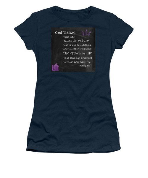 And They Lay Their Crowns Before The Women's T-Shirt