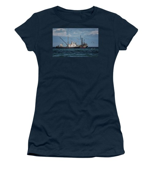 Kornat And Western Investor Women's T-Shirt (Junior Cut) by Randy Hall