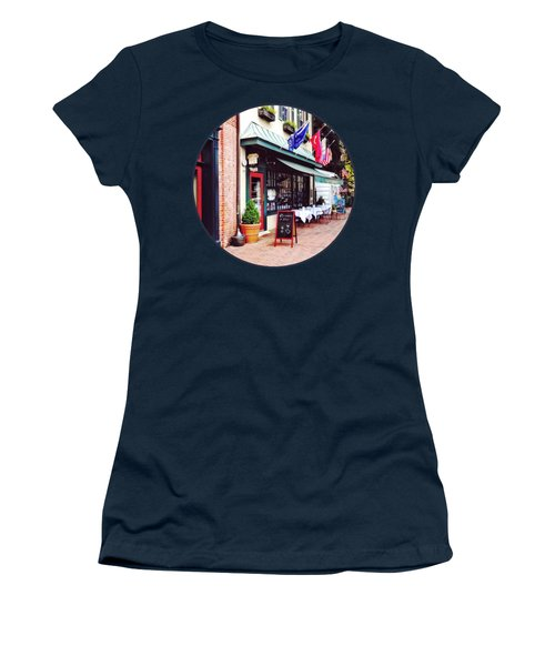 Annapolis Md - Restaurant On State Circle Women's T-Shirt (Athletic Fit)