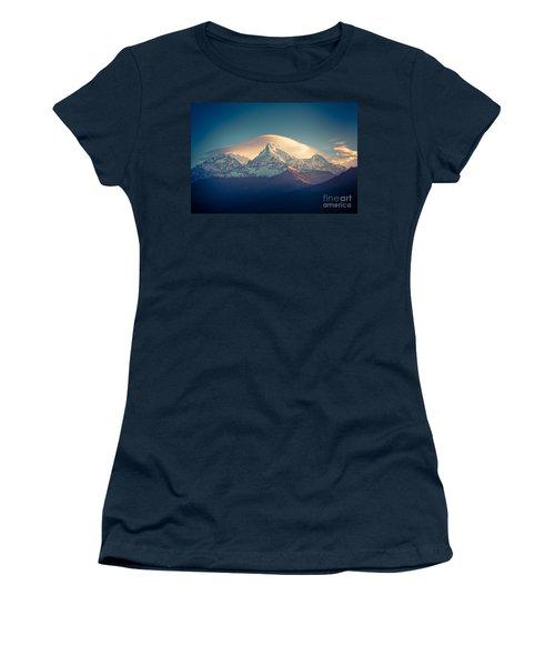 Annapurna Sunrise Himalayas Mountain Artmif Women's T-Shirt