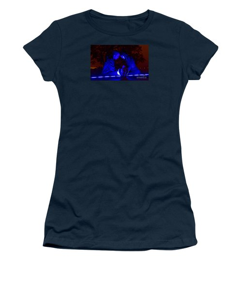 Women's T-Shirt (Junior Cut) featuring the photograph Apocalyptic Love by Xn Tyler