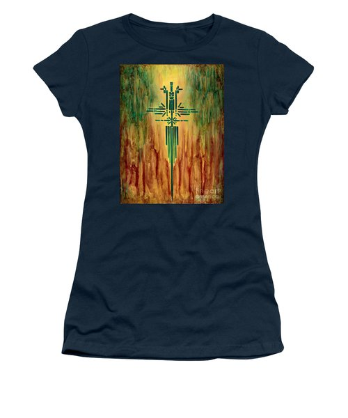Archangel Michael Women's T-Shirt (Junior Cut)