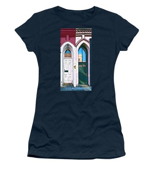 050 - Door One And Door Too Women's T-Shirt