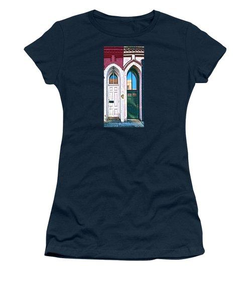 Door One And Door Too Women's T-Shirt