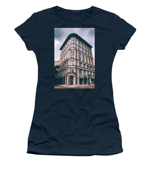 Archtectural Building 3 Women's T-Shirt (Athletic Fit)
