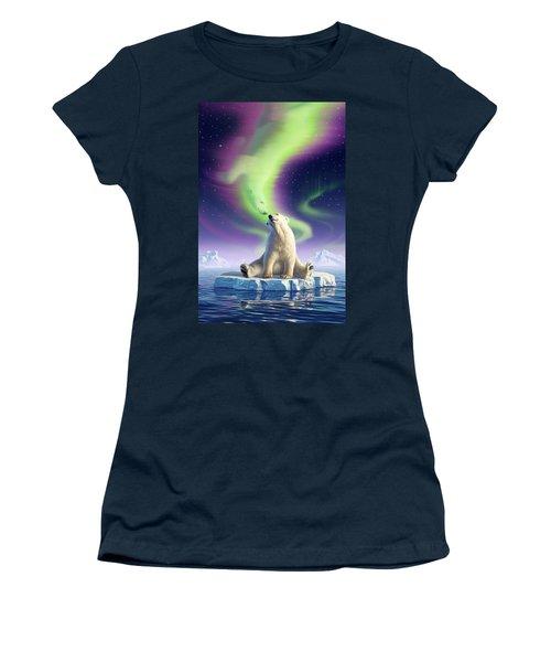 Arctic Kiss Women's T-Shirt (Athletic Fit)