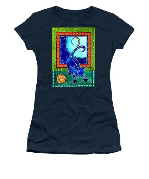 Aries Cat Zodiac Women's T-Shirt
