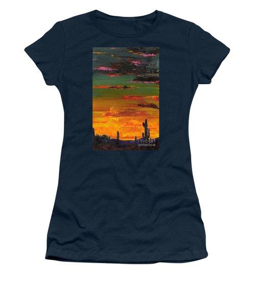 Arizona Sunset Women's T-Shirt